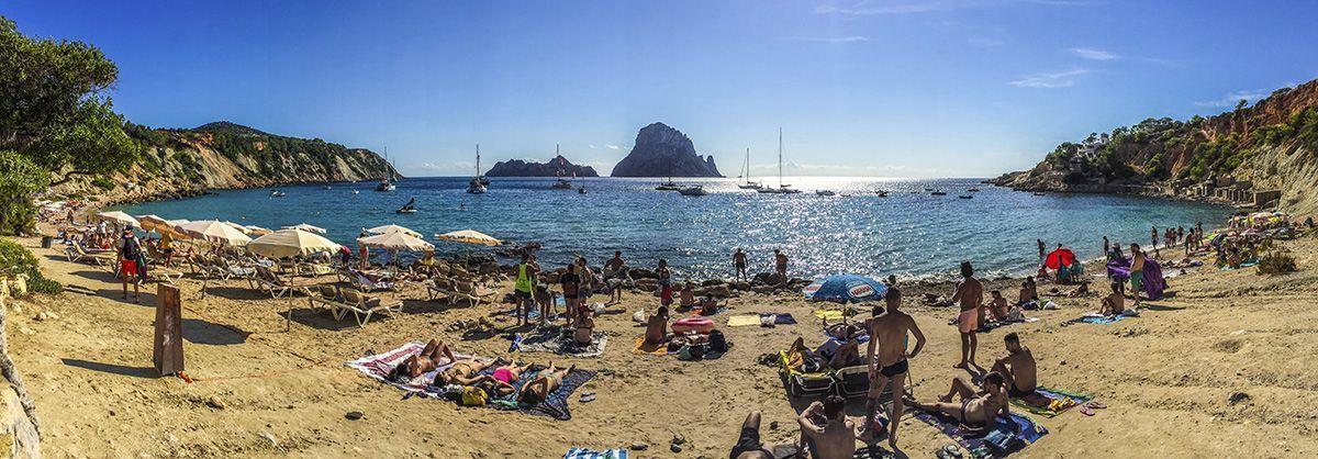Mejores playas de Ibiza - Cala d´hort