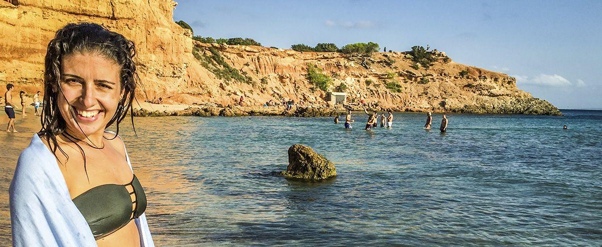 Mejores playas de Ibiza - Sa Caleta