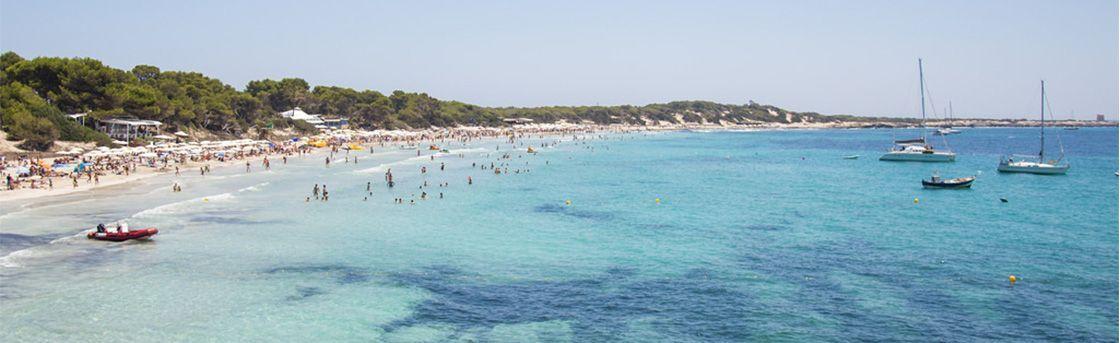 Mejores playas de Ibiza - Ses Salines y Cavallet