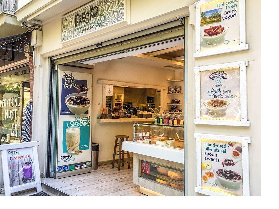 Donde comer en Atenas - Fresko