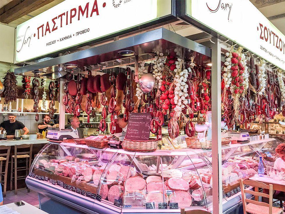 Donde comer en Atenas - Karamanlidika de Fanis