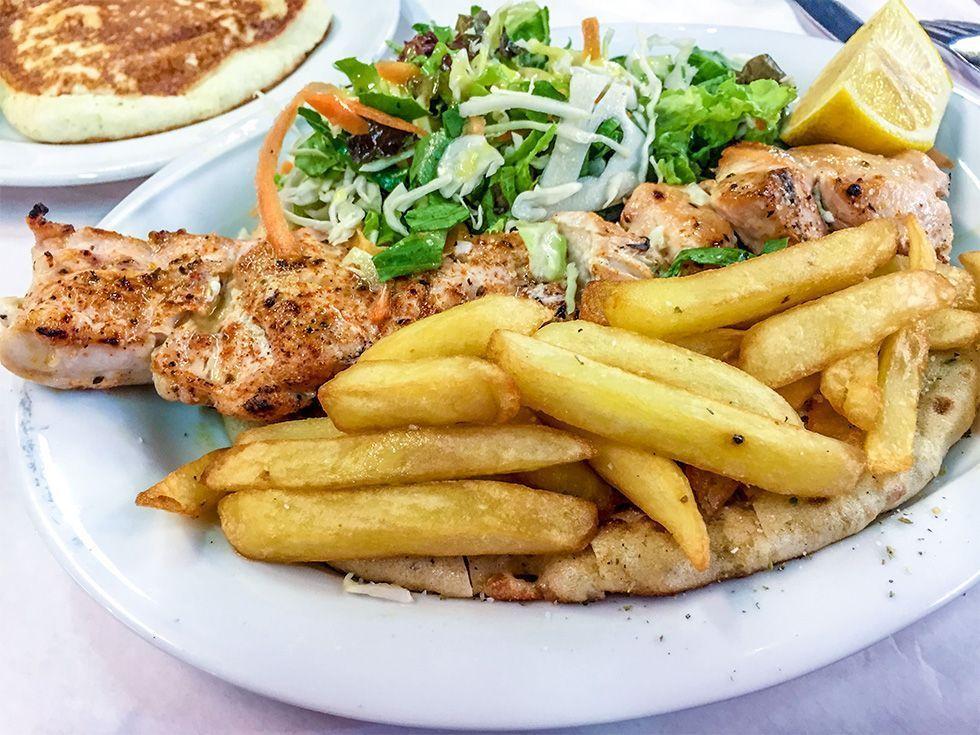 Donde comer en Atenas - O Thanasis