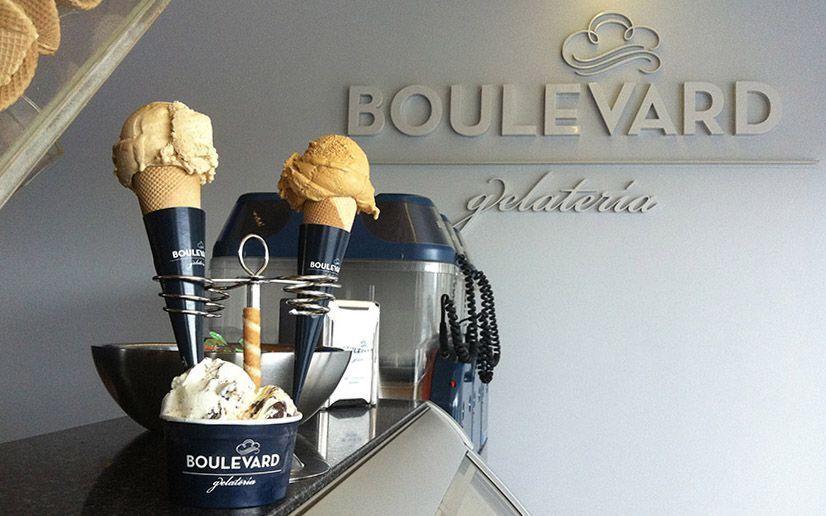 Mejores helados de San Sebastián - Gelatería Boulevard