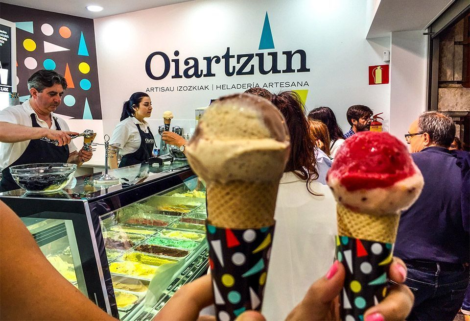 Mejores helados de San Sebastián