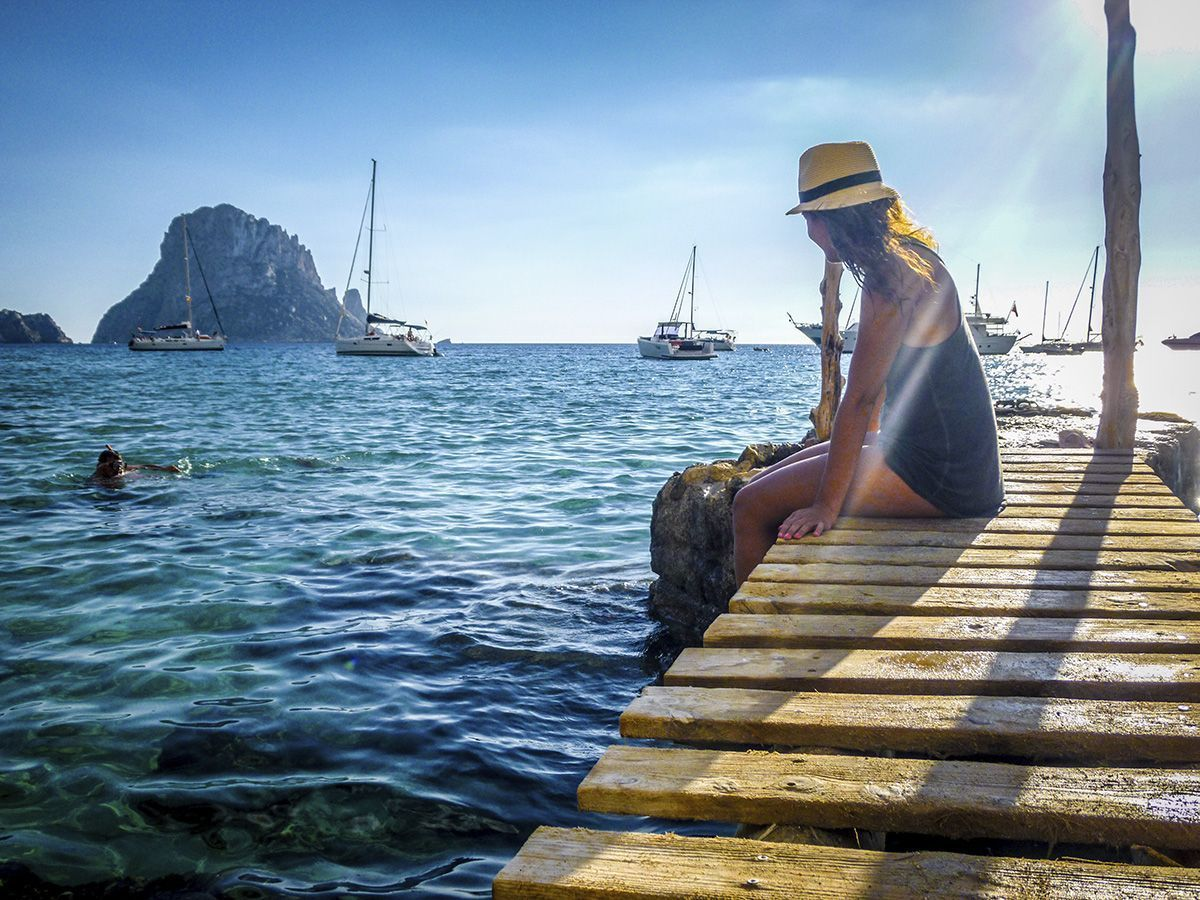 Qué hacer y ver en Ibiza - Fotos en sus muelles