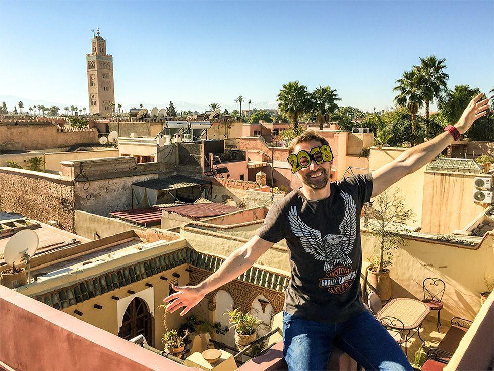 Nochevieja en Marrakech