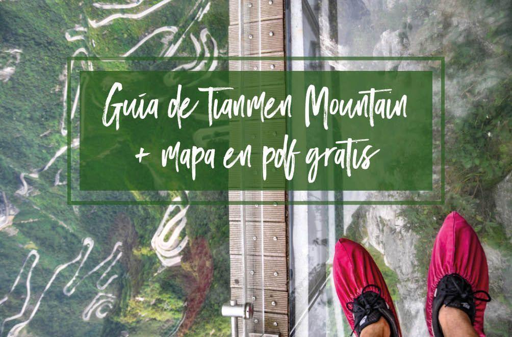 Guía de Tianmen Mountain con mapa