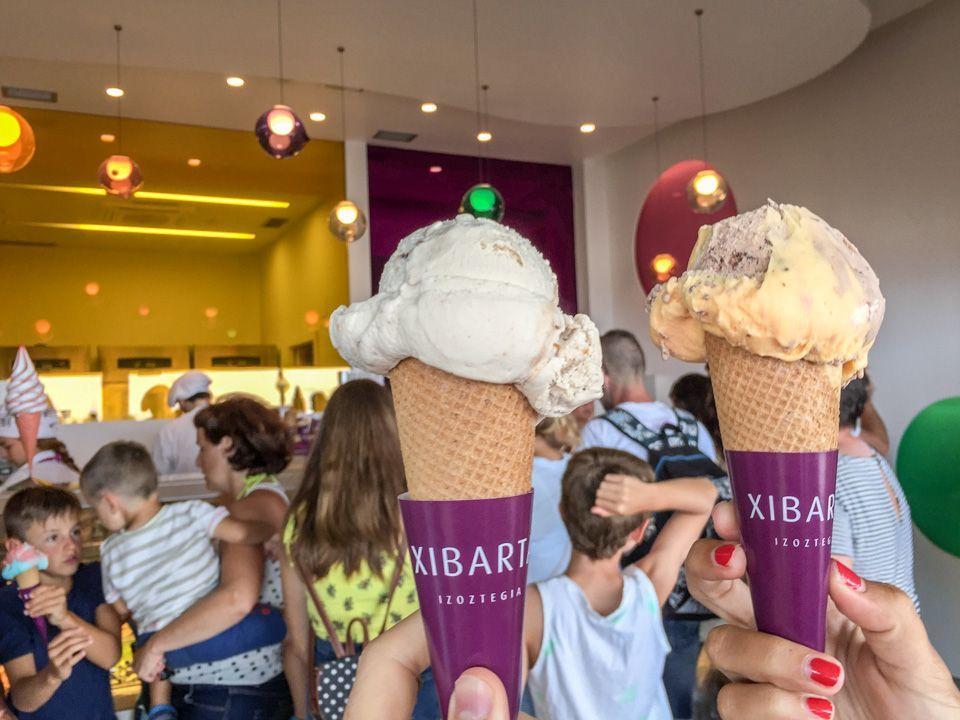 Mejores helados de Zarautz