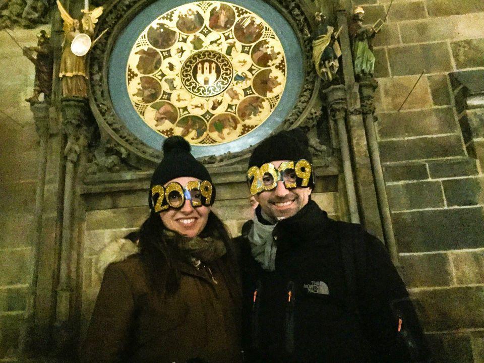 Nochevieja en Praga