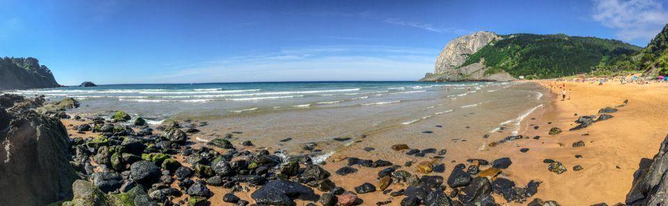 Pueblos que no te puedes perder de la costa Vasca - Playa de Laga