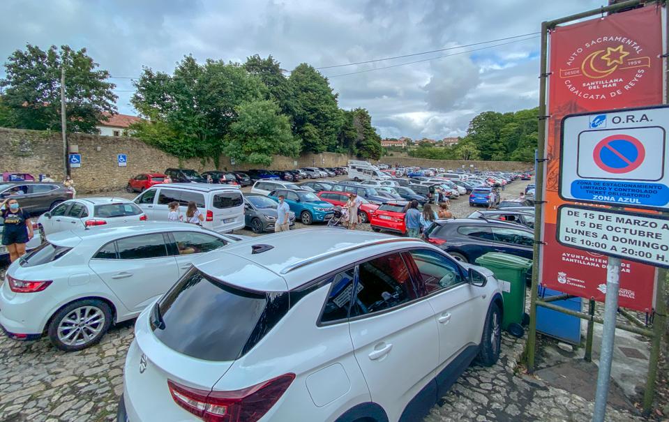 Dónde aparcar en Santillana del Mar